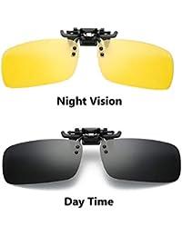 0d77f0c0851c Coromose Clip-on Polarized Sunglasses Clip On Style Sunglasses UV400  Polarized Fishing Eyewear Day Time