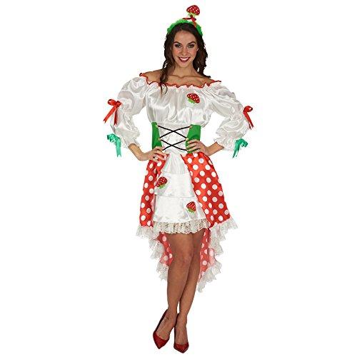 Glückspilz Kostüm für Damen Gr. 44 (Glückspilz Kostüm)