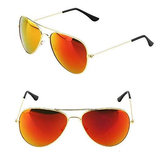 GJYANJING Sonnenbrille Mode Klassische Sonnenbrille Frauen Männer Fahren Spiegel 2017 Neue Pilot Sonnenbrille Frauen Männer Marke Designer Unisex Uv400