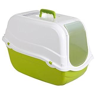 Kerbl Litter Box Minka, 57 x 39 x 41 cm, Green/White 6