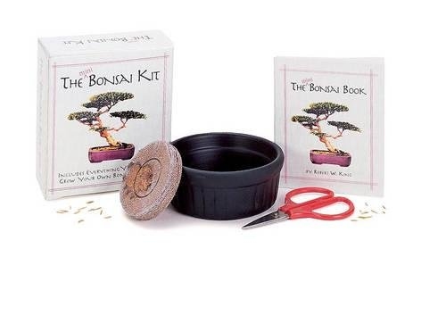 The Mini Bonsai Kit (Miniature Editions Pocket Pack)