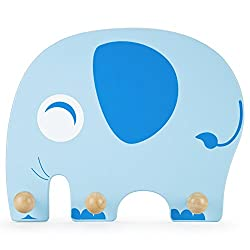 Wooden Elephant Clothing Rack by Imagination Generation