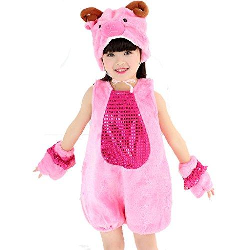 Vier Kostüm Von Mädchen Gruppe - Wgwioo Kindergarten Kindertanz Tanz Kleidung Leistung Kostüme Klassische Jungen Mädchen Tragen Kinder Bühnenschüler Gruppen Team, 4#, M