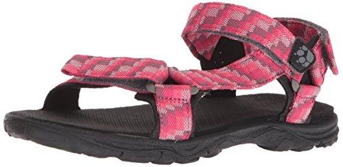 Jack Wolfskin Mädchen Seven SEAS 2 G Sport Sandalen, (Tropic Pink 2145), 28 EU