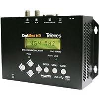 Televes 554912–Encoder DIGIMOD HD ENC/Mod DVBT HDMI + USB