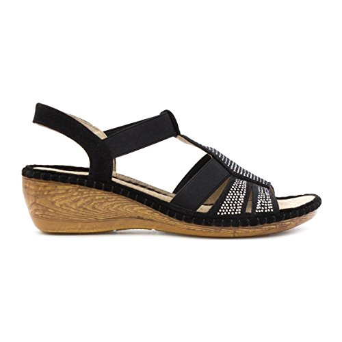 Cushion Walk, Sandali donna Black