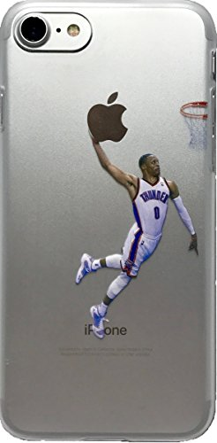 echc Favorite Basketball Player Hard Kunststoff iPhone Fall, iPhone 7 and 8, Westbrook (Basketball Iphone Fall)