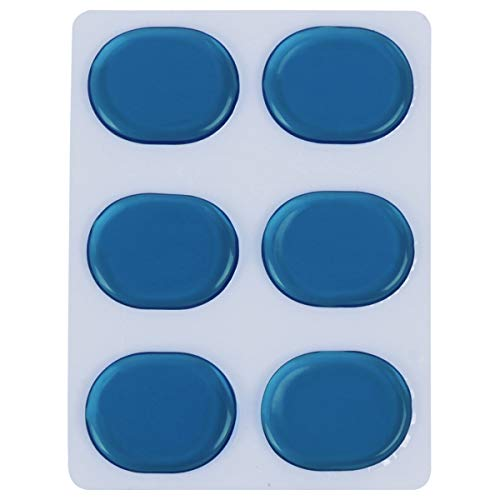 Healifty Drum Dampening Gel Pad Tone Control Drum Mute Drum Schalldämpfer für Drum Kit Blue -