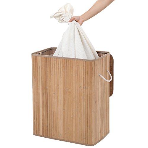 Wäschekorb aus Bambus, 100 Liter - 5
