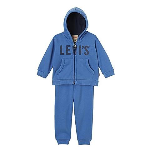 Levis Kids Set Jog, Survêtement Bébé Garçon, Blau (Delft 43), 6 Mois