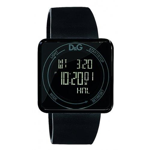 D&G DW0734 - Digitaluhr Schwarz Touchscreen