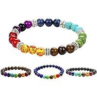 ULTNICE Lava-Armband Energietherapie Yoga-Armband für Frauen Männer 8mm 4 Stücke preisvergleich bei billige-tabletten.eu