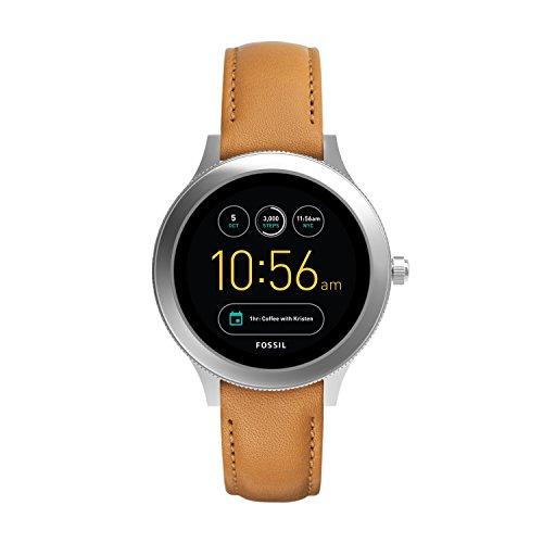 Fossil Smartwatch Digitale da Donna con Cinturino Pelle FTW6007