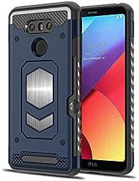Pacyer Funda para LG G6, PC + Duty Armor TPU Hierro Magnético función para Soporte de Coche Carcasa Shock-Absorción Case para LG G6…