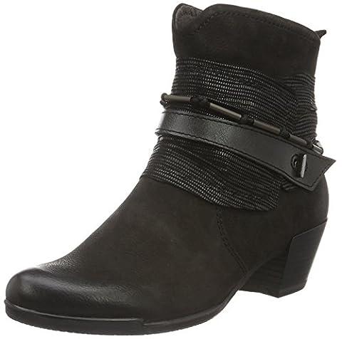 Tamaris Damen 25349 Biker Boots, Schwarz (Black Comb 098), 38 EU