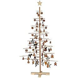 xmas3 SKU203 Assemble árbol de Navidad, altura 190 cm, 187,96 cm, Color