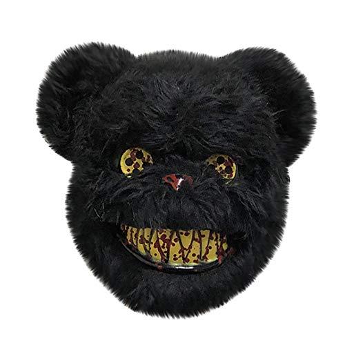 Kostüm Wolf Scary - HEOWE 2019 Neue Halloween Maske Cosplay Scary Wolf Maske Kostüm Für Erwachsene Party Dekoration Requisiten @ Schwarz