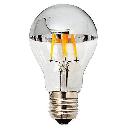 luxon-4-w-a60-lampadine-led-top-specchio-argento-lampadina-luce-calda-2700-k-non-dimmerabile