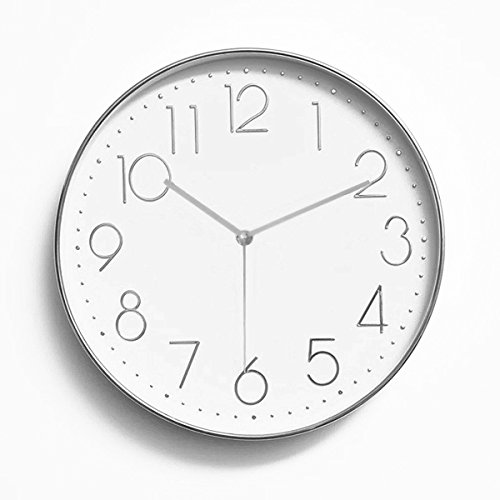 Foxtop 12 inch rose gold wall clock
