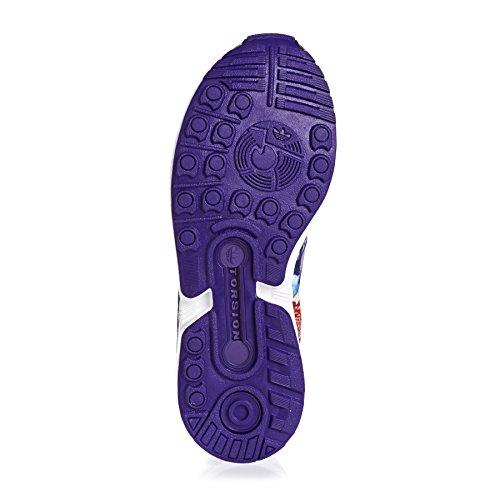 adidas Zx Flux, Scarpe da Ginnastica Unisex – Adulto Violet