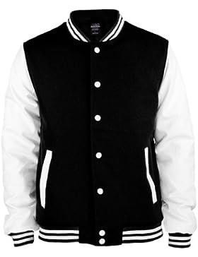 Urban Classics Bekleidung Oldschool College Jacket - Chaqueta técnica para hombre