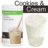 Herbalife F1 Cookies and Cream batido nutricional