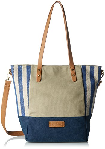 TOM TAILOR Acc Damen Arizona Tote, Blau (Blau), 13x37x44 cm