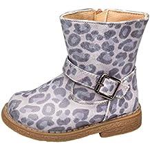 e4f4d603b54cb9 GIBRA® Stiefel für Babys und Kleinkinder im Leoparden-Look