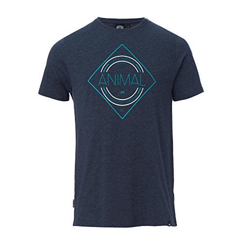 Herren T-Shirt Animal Analogue T-Shirt total eclipse navy marl