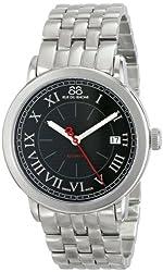 88 Rue du Rhone Mens 87WA120034 Analog Display Swiss Automatic Black Watch