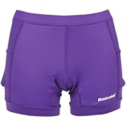 BABOLAT Match Performance Short Señora, Púrpura, L