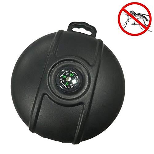 Trappola antincendio led lamp zanzara insetticida repellente del repellente della zanzara ultrasonico degli insetti di insetti parassiti portatili all'aperto di q3 con funzione della bussola led anti-