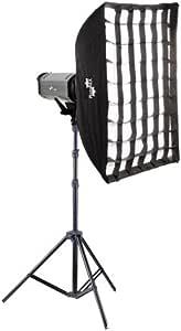 Nicefoto K400 Studioset 400ws Softbox 80x120cm Kamera