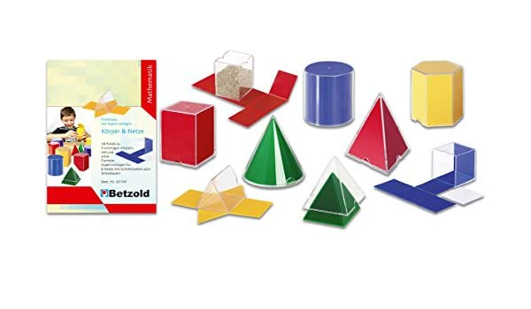 Geometriesatz Körper und Netze - Geometrie geometrische Körper ...