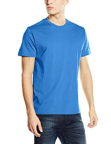 Stedman Apparel Herren Regular Fit T-Shirt Blau (Bright Royal)