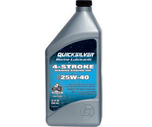Quicksilver 4-Takt Motoröl 25W-40 1 Liter mineralisch