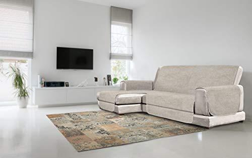 Italian bed linen copridivano antiscivolo comfort con penisola sx, beige, 190 cm