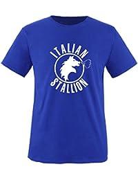 ITALIEN STALLION -Herren Unisex T-Shirt Gr. S bis XXL Vers. Farben