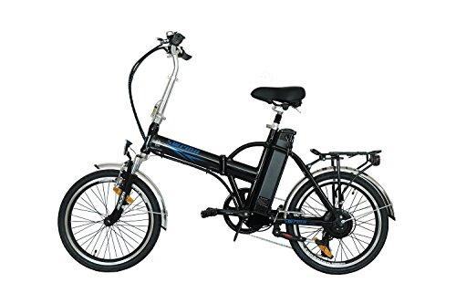 swemo 20 Zoll Alu Klapp E-Bike/Pedelec SW100 Neu (Schwarz)