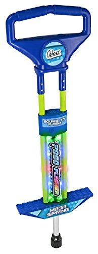 Ozbozz sv13787Go Light Up Pogo Stick Jungen (Pogo Stick Grün)