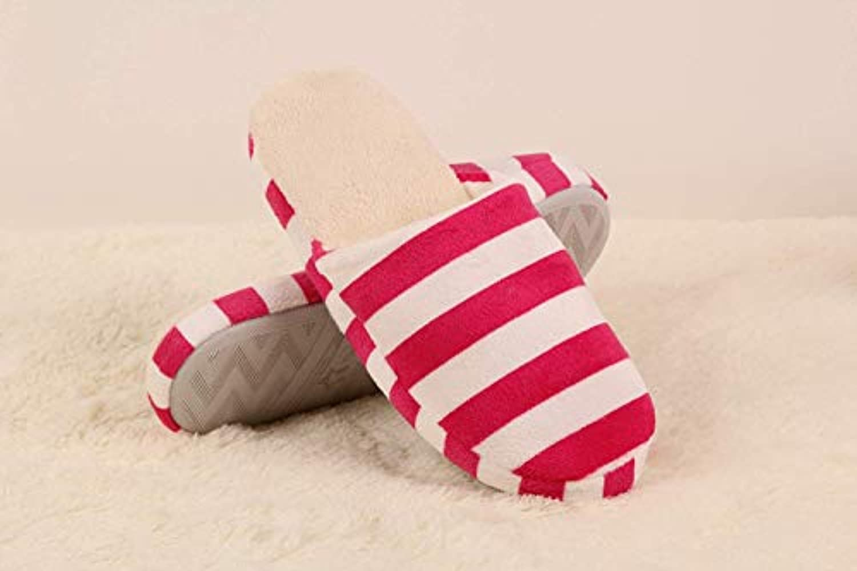 EoamIk Pantofole Inverno Autunno e Inverno a Righe Righe Righe per Interni casa Pantofole Coppia Caldo Cotone Pantofole (Coloreee... | Prezzo Affare  | Scolaro/Signora Scarpa  3eded4