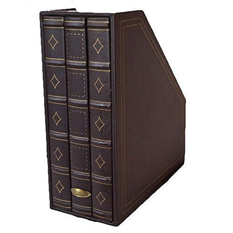 Storage Magazine Rack Storage Brown Magazine File - Book Storage
