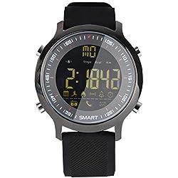 UTHDELD Smartwatch Montre Intelligente Montre Professionnelle de plongée sous-Marine avec téléphone Bluetooth Message Bluetooth 5ATM IP67 SmartWatches