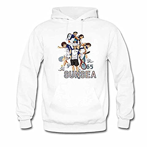 Pure cotton The Prince of Tennis long-sleeved Couple's Hoodie-3XL