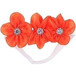 YeahiBaby Margarita diadema floral corona flor pelo guirnalda para fiesta de bodas de vacaciones para niños