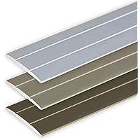 descalier-protection Brun 80cm bande de bordure Nez de marche profil d/'angle PVC autoadh/ésif 41x25mm antid/érapant