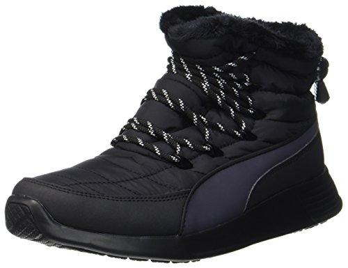 Puma Damen ST Winter Boot Schlupfstiefel, Schwarz (Black-Periscope), 38.5 EU (Puma Stiefel Für Frauen)