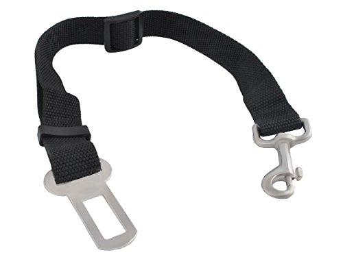 Iso Trade Hundeleine für Auto Sicherheitsgurt Hunde Transport Autogurt Adapter #2846