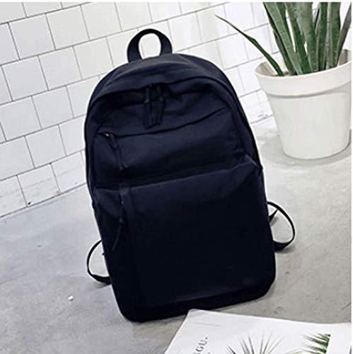 cc41547952 sac à dos Cartable Harajuku coréen Nouveau Sen Super Fire (Noir)