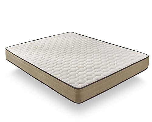 Matris - Colchón Viscoelástico Bamboo Fresh Confort - 90 x 180 x 20 - Todas Las Medidas